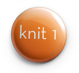 knit 1 button