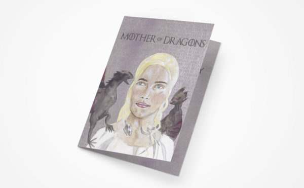 Game of Thrones Mother's Day Greeting Card