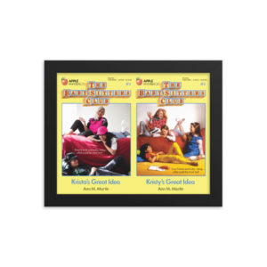 "Baby-Sitters Club ""Krista's Great Idea"" Framed Art"