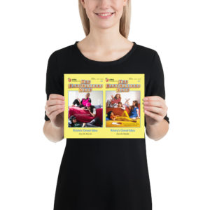 "Baby-Sitters Club ""Krista's Great Idea"" Print"