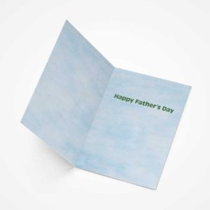 Feminist Father's Day 5x7 Greeting Card