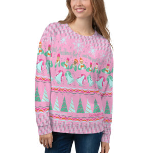 "Feminist ""Ugly Xmas Sweater"" Sweatshirt"