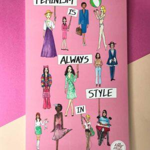 Feminism Style Voting Wall Calendar