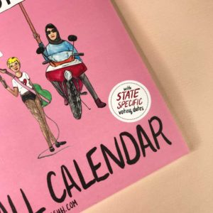 Feminism Style Voting Wall Calendar