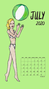 Feminism Style Voting Wall Calendar May